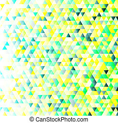 Colorful triangles geometric pattern