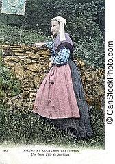 A girl of Morbihan