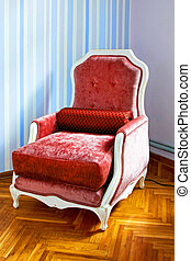 Red armchair 2