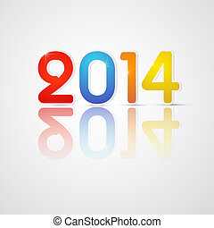 Vector Happy New Year Background