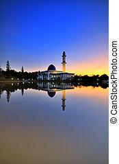 Uniten Mosque during sunrise