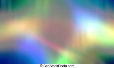 Flowing soft multicolor abstract looping animated background...