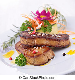 assado, foie, gras