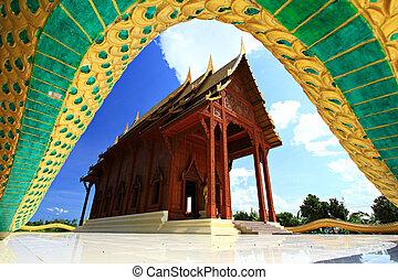 Wat aow noi prachuabkirikhan Province, Thailand
