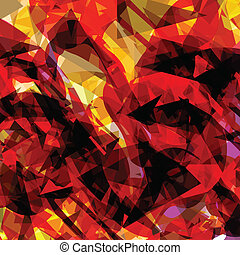 Abstract color splashes vector background for poster