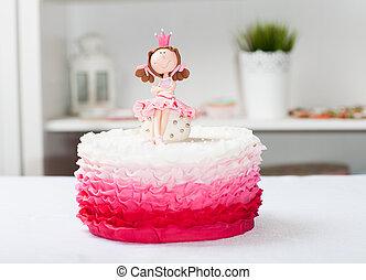 taart, prinsesje