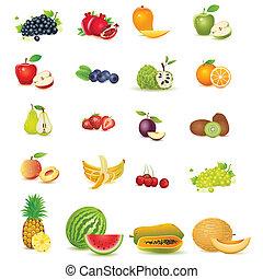 frisk, frukt