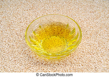 Sesame oil and seed.