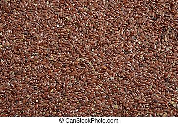 Linum seed.
