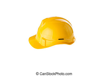 Safety Helmet - Safety helmet on white background
