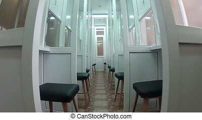 Room for short meetings in prison