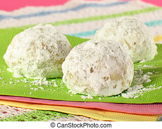 Tea Cookies - Tea cakes... sweet, round cookies rolled in...
