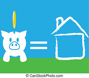 piggy bank home saving