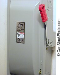 Heavy Duty Safety Switch - High Voltage Power Switch