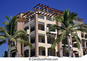 Apartments on Mexican beach - Apartments on tropical Mexican...
