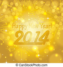 Abstract winter New Year background
