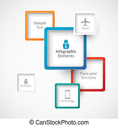 infographic elements - infographic design elements, frames...