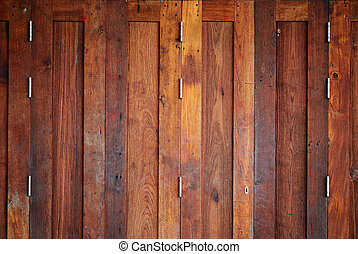 Wood door background - Vintage wood door background for...