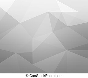 Gray Polygon Texture