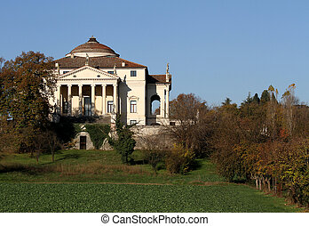 La Rotonda in Vicenza in Italy in autumn 5 - Beautiful...