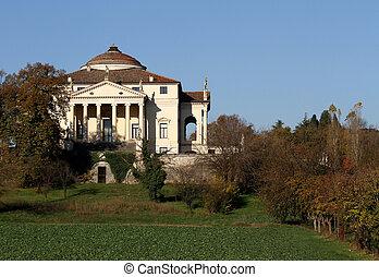 La Rotonda in Vicenza in Italy in autumn 5 - Beautiful...