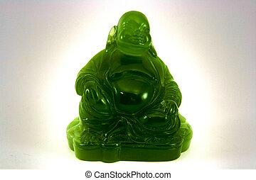Chinese Jade Budda HDR - Chinese Jade Budda
