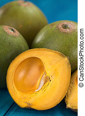 Peruvian Fruit Called Lucuma - Peruvian fruit called Lucuma...
