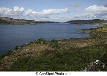 Loch Bad A Ghail Inverpolly National Nature Reserve Scotland...