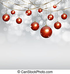 Winter White Holiday Background - winter white holiday...