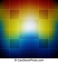 Blurred vibrant rainbow colors abstract background