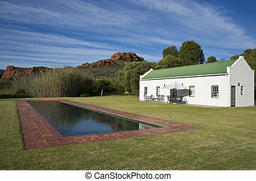 Holiday Cottage - Farm cottage built in traditional Cape...