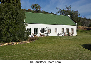 Cape Dutch Cottage - Farm cottage built in traditional Cape...
