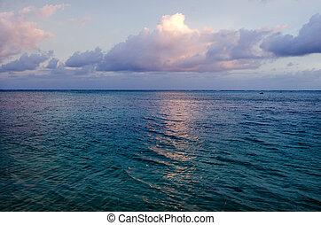 Aitutaki Lagoon Cook Islands - Landscape of Aitutaki Lagoon...
