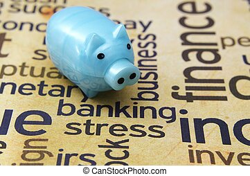 Banking stress concept