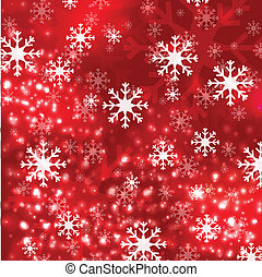 Red Christmas background in elegant style