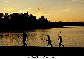 el, pescadores