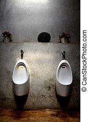 urinal for men - white urinal for men