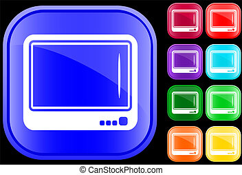 Icon of television