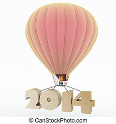 2014 a year flies on a balloon - 2014 a year flies on a...