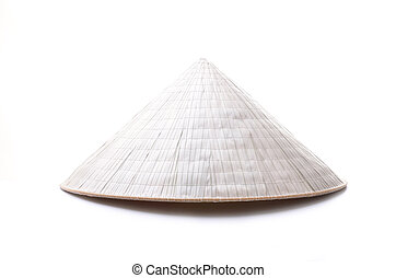 vietnam hat isolated on white background