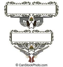 insignias, armas