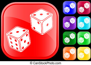Icon of dice