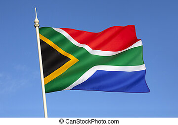 Flag of South Africa - The flag of the Republic of South...