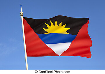Flag of Antigua and Barbuda - The national flag of Antigua...