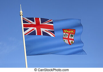 Flag of Fiji - South Pacific - Republic of Fiji - The...