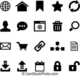 Internet Icon set for your design