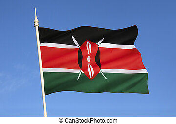 Flag of Kenya - The national flag of Kenya was officially...