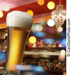 Cerveja, barzinhos, contador