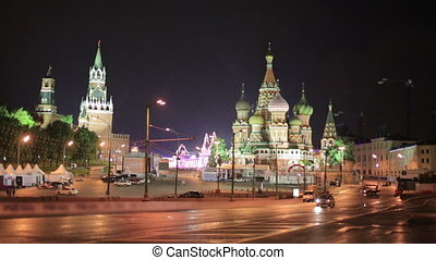 Saint Basil's Cathedral, Moscow, Russia - Saint Basil's...