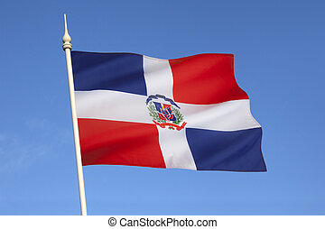 Flag of Dominican Republic - The national and state flag of...